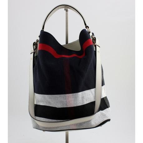 Bolso Burberry Medium Canvas Check Tote Bag