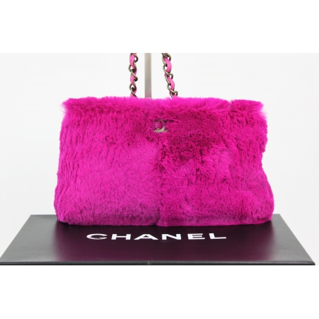 Chanel Fur Shoulder Bag
