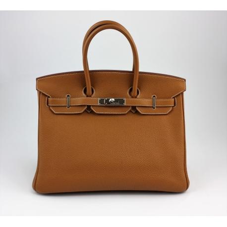 5b5a111d6c9 Hermes Birkin 35 cm Camel / Palladium - Second Chance Luxury & Vintage