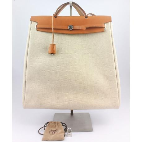 "Mochila o Bolso de viaje Hermes Vintage ""Her Bag"""