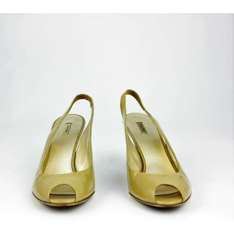 "Miu Miu ""Peep Tpe"" Slingbacks shoes"