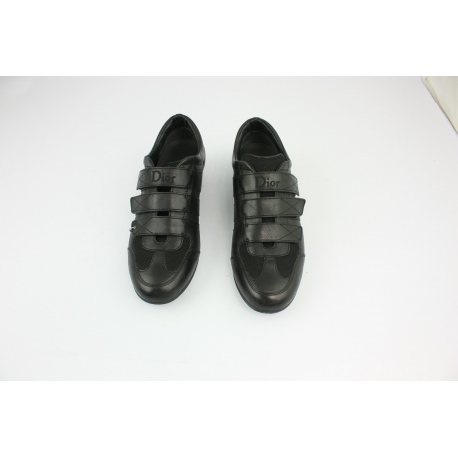 Women's snikers Dior in black leather
