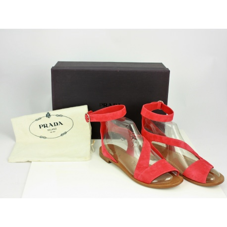 Sandalias bajas de Prada