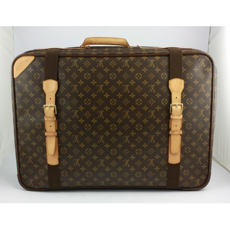 "Louis Vuitton ""Satellite"" soft suitcase"