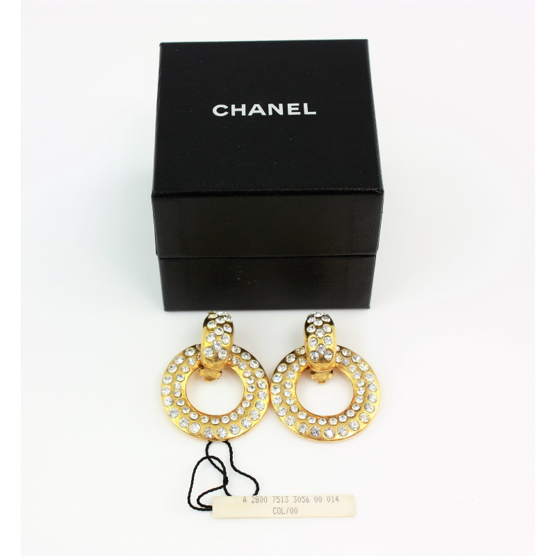 af844d844 Chanel. Earrings. Costume Jewllery - Second Chance Luxury & Vintage