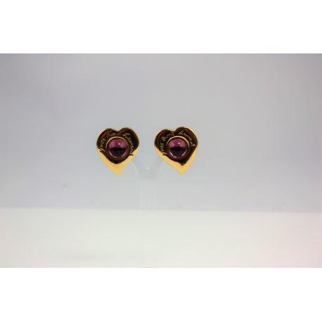 Earrings YSL. Yves Saint Laurent.