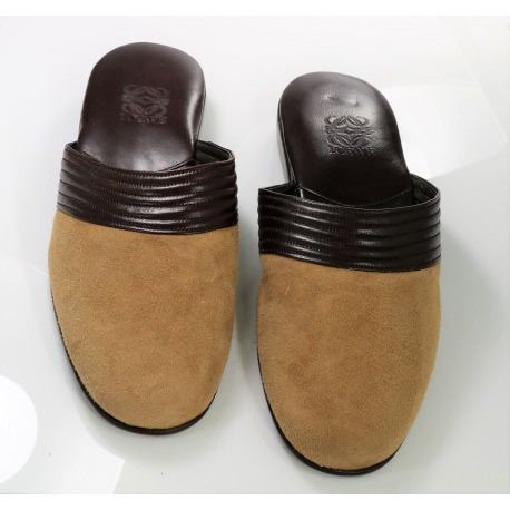 Zapatillas de caballero. Zapatillas de dormir Loewe.