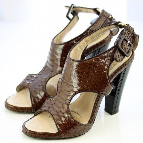 Python Loewe Sandals