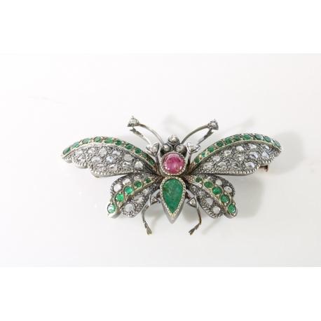 Broche Mariposa