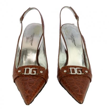 Zapatos Dolce Gabbana abiertos en talón