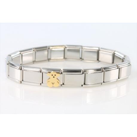 Tous Bracelet steel - gold