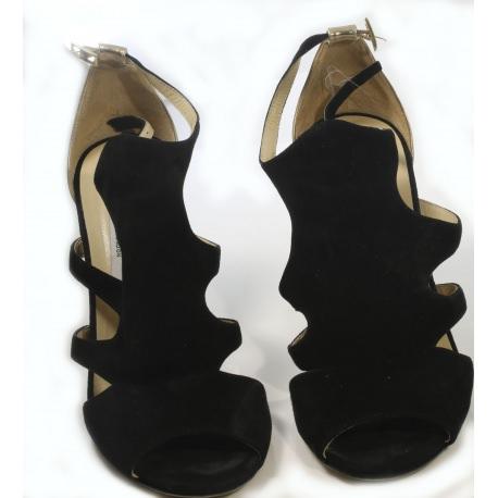 "Zapatos Jimmy Choo. Sandalias ""Peep Toe"""