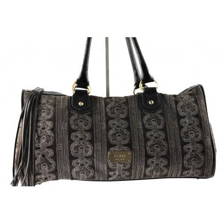 Tous Handbag with Tous Bear Pattern