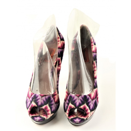 """Zapatos mujer Missoni """"Peep Toes"""""""