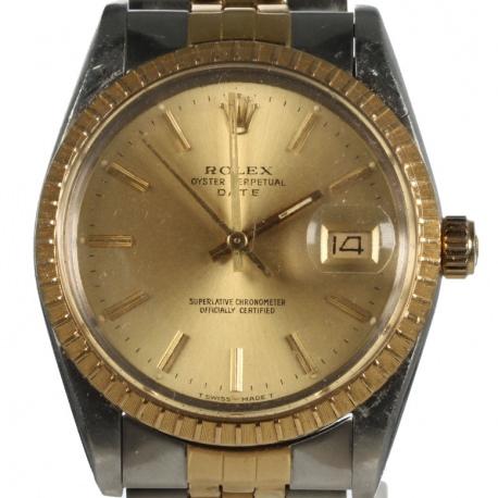 Rolex Date  15053 Two Tone