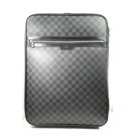 Louis Vuitton  Damier Graphite Canvas Pegase 45 Rolling Suitcase