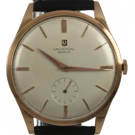 Universal Geneve Oversize 37mm Gold