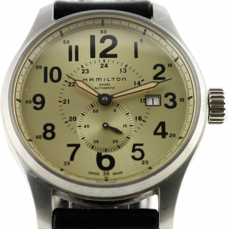"Hamilton Watch.  Khaki Automatic ""Jumbo Size"" model"