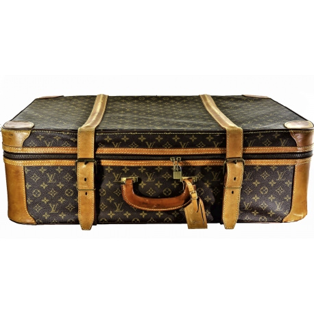 Louis Vuitton semi-rigid suitcase