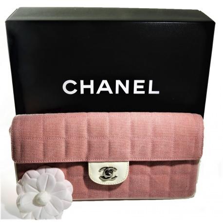 """Bolso Chanel """"Este-Oeste"""" Barra de Chocolate"""
