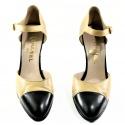 Bi-Color Chanel Shoes