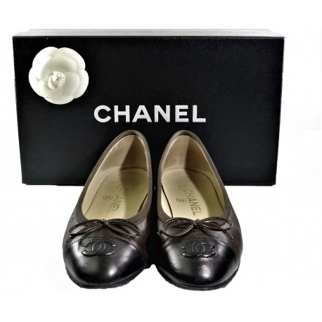 Chanel Bi-Color Ballet Flats
