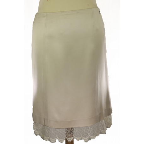 Silk Chanel Vintage Skirt