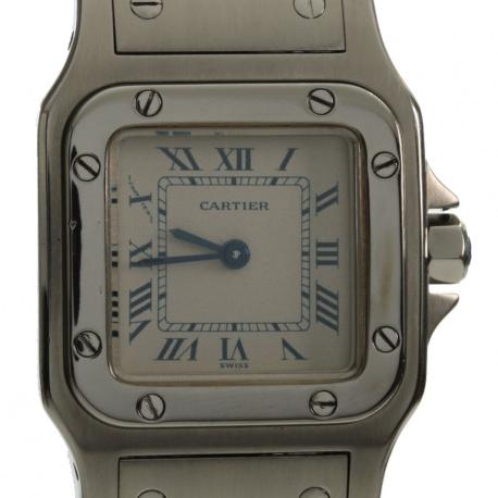 Cartier Santos Galbee Steel 24mm