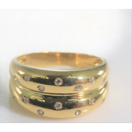 Sortija circonitas oro
