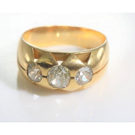 Tresillo con diamantes