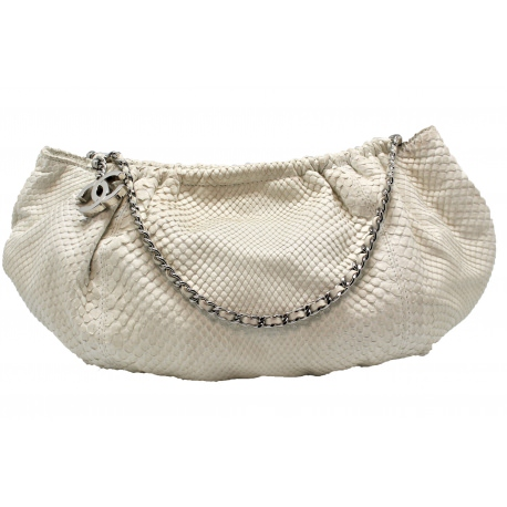 Chanel Hobo Python in size Small