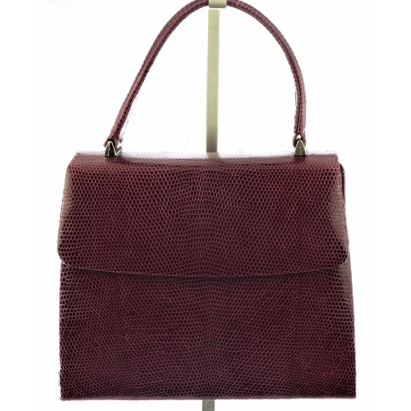 Launer Handbag in Snake skin