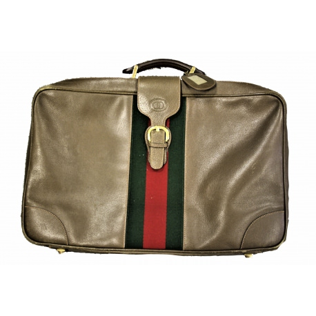 Gucci Vintage Medium Size Soft Suitcase