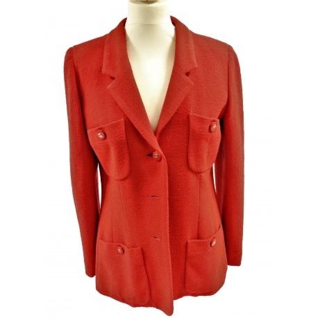 Chaqueta Chanel Roja