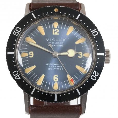 Diver Vintage Vialux 37mm N.O.S.