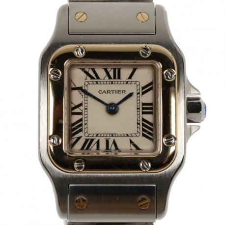 Cartier Santos Lady´s Steel and Gold