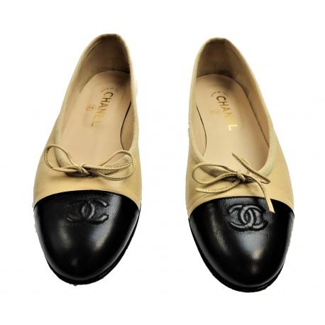 Ballet flats Bi Color Chanel