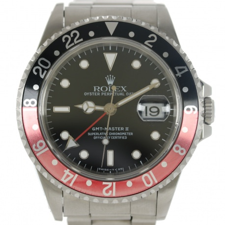 "Rolex GMT Master II 1996 Ref. 16710 ""Coke"""