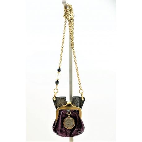 Monedero cruzado Dolce Gabbana Heritage Vintage