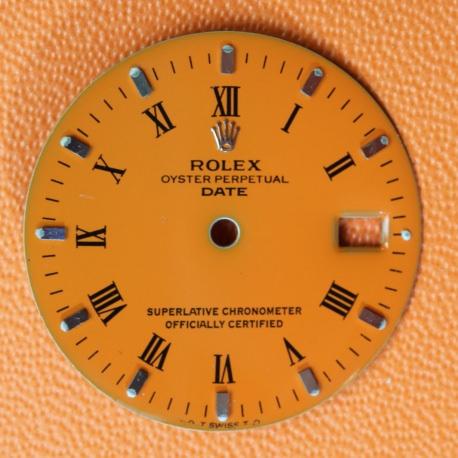 Esfera Rolex Date Sigma 34mm Naranja