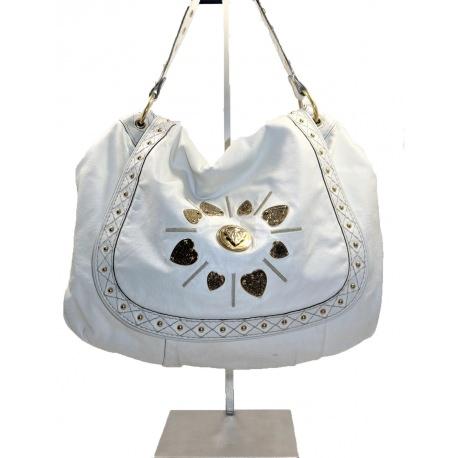 Gucci Irina Babouska Leather Shoulder Handbag