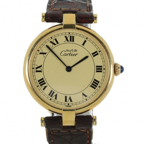 Must de Cartier Vermeil Lady´s