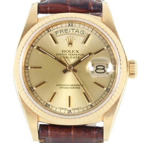 Rolex Day-Date Oro ref. 18038 Año 1979