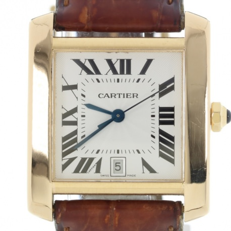 Cartier Tank Française Gold ref. 1840 Full Set