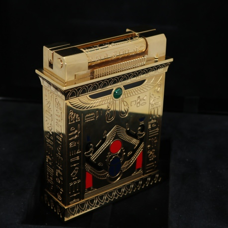 "S.T. Dupont Table Lighter ""Pharaoh"" Limited Edition Pack"