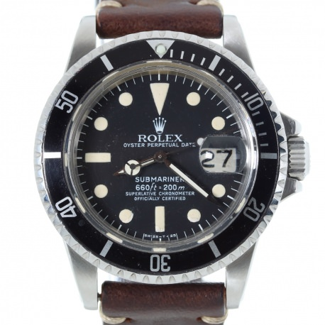 Rolex Submariner 1680 Maxi Dial Mark 1 1978