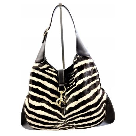 Bolso Gucci Hobo Estampado Zebra Jackie