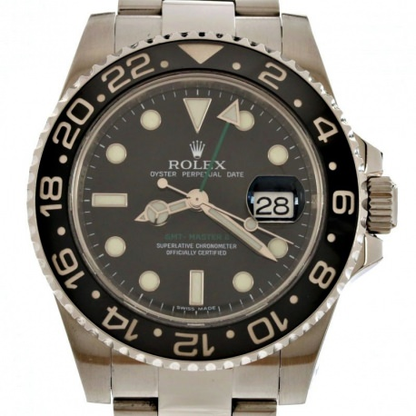 Rolex GMT Master II Ceramic 2007 ref 116710 40mm Full Set