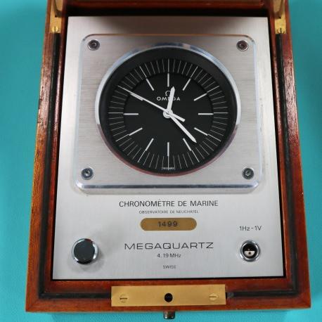 Omega Chronometre Marine Megaquartz