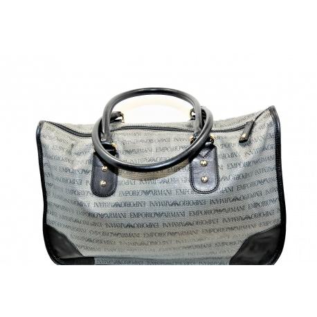 Emporio Armani Monogram Handbag